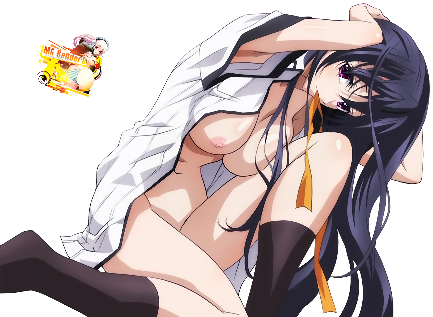 Shiranui akeno in bondage